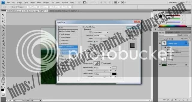 Belajar Photoshop Memahami Perbedaan Antara Fill dan Opacity Pada Layer