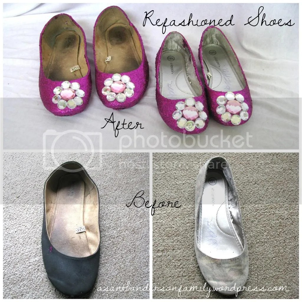 Refashioned Shoes