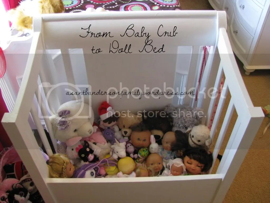 From Baby Crib to Doll Bed