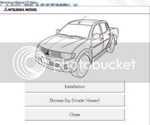 Mitsubishi L200 2012 Workshop Manual | Auto Repair Manual Forum  Heavy Equipment Forums