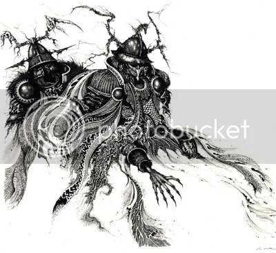 Ilustración Tolkien Bestiary