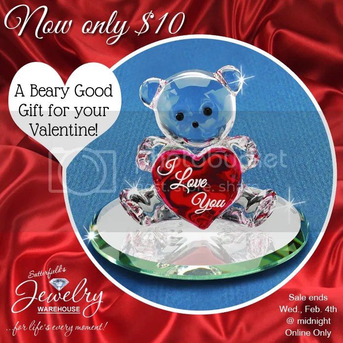 Glass Baron Bear only $10!