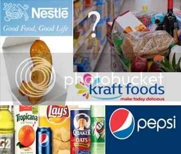 PepsiCo, Nestles, Kraft, Cadbury Adams LLC Candies, Senomyx