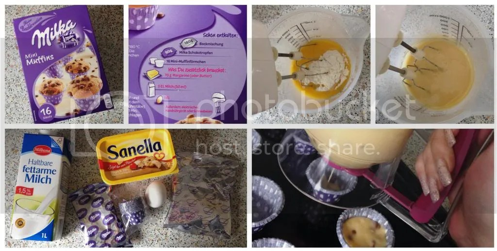 Ich bin dann mal kurz in der Küche] – Milka Mini Muffins – Mary Jo Benz