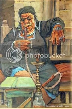 لوحات زيتية مصرية