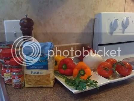 Spicy Chicken and Pasta (1/5)