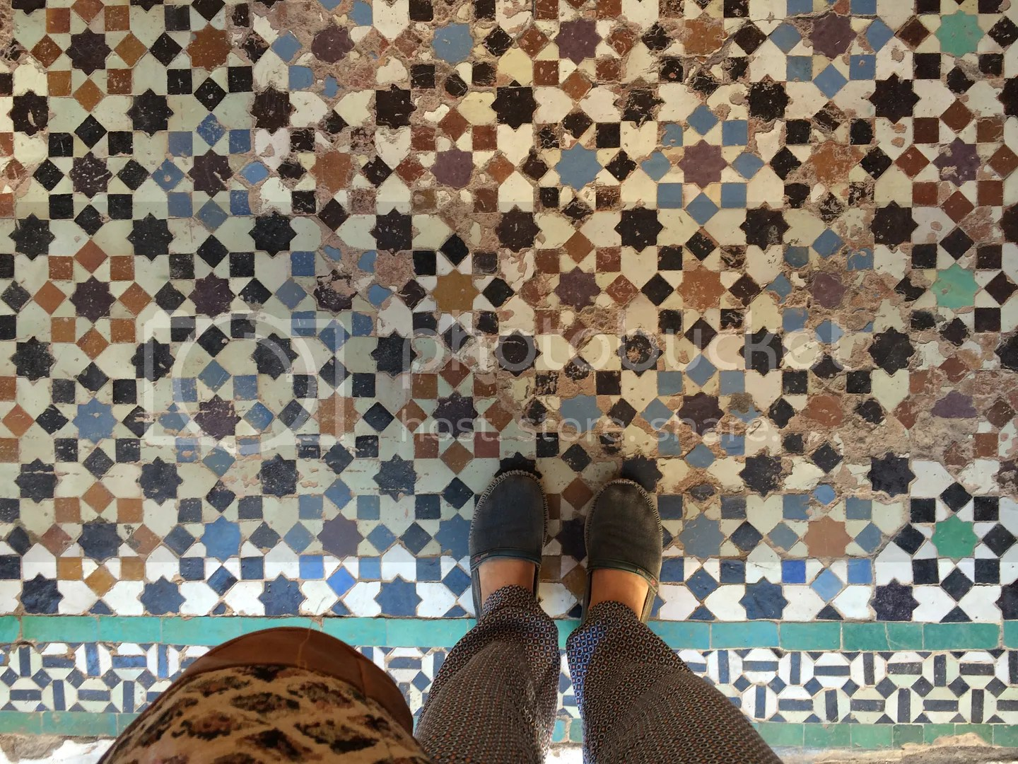 floor tiles, marrakech