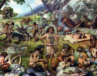 Reunión de Cazadores/Recolectores prehistoricos