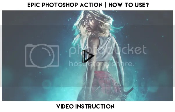 Epic Photoshop Action - 1