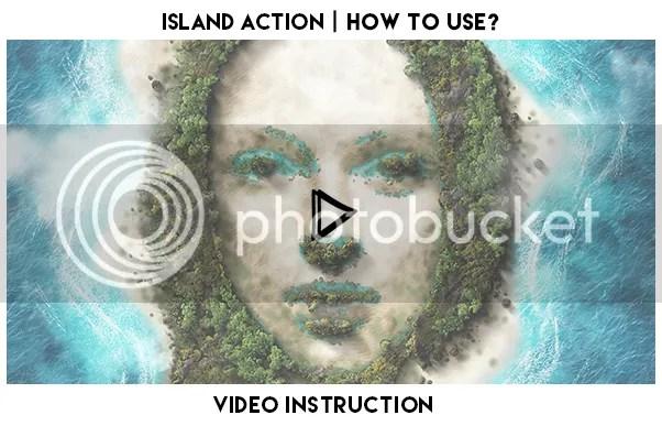 Island Photoshop Action - 1