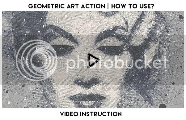 Geometric Art Photoshop Action - 1