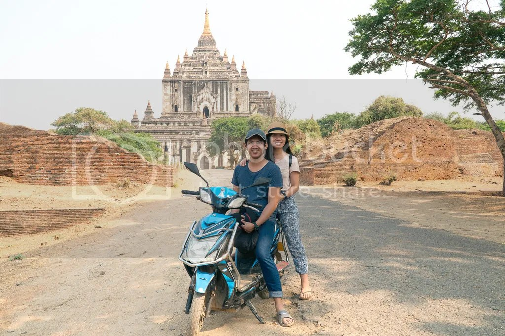 thatbyinnu temple in bagan myanmar