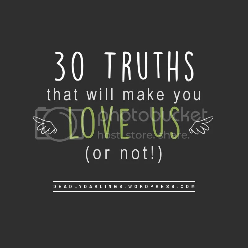 30 Facts Truths Secrets