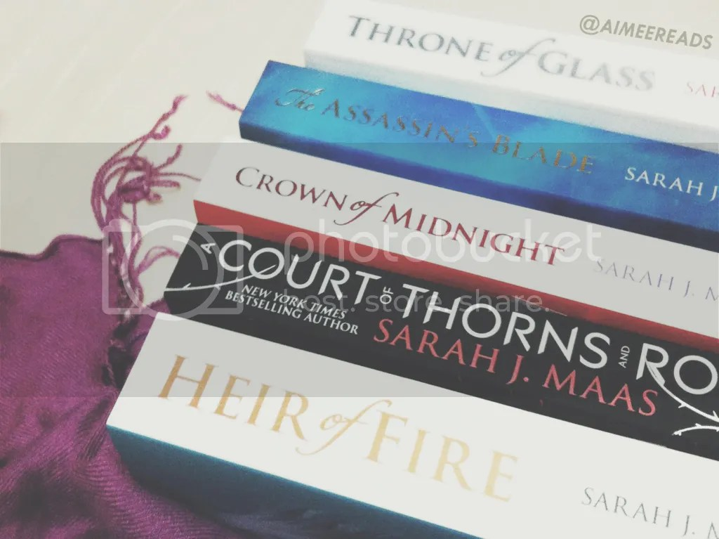 Sarah J Maas UK Throne of Glass Crown of Midnight Heir of Fire A Court of Thorns and Roses The Assassin's Blade