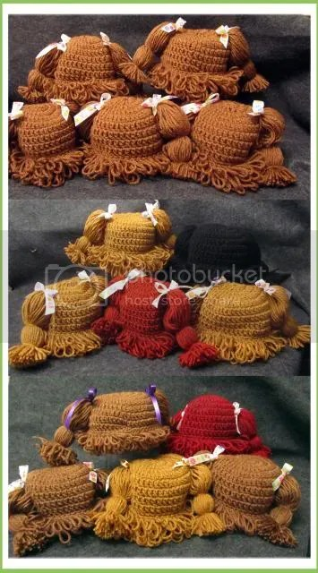 All sizes of cabbage patch hat grow sew happy lately the only project ive been working on are cabbage patch doll hats lots of them this photo only shows some of the hats ive made over the last few dt1010fo