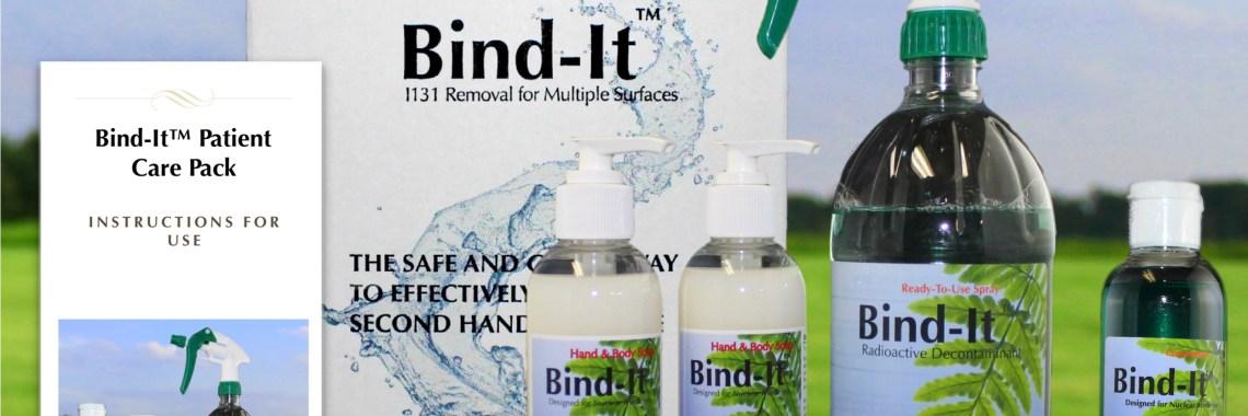 Bind-It Radioactive Decontaminant