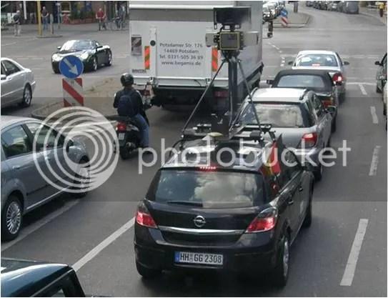 Street View autoa