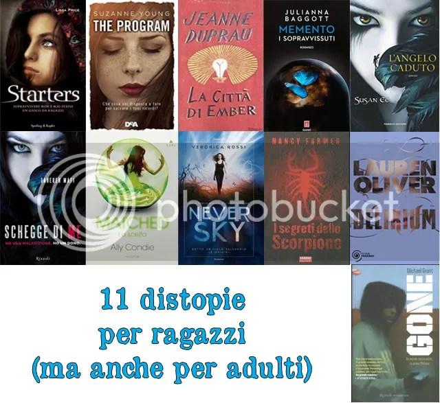 11 distopie per ragazzi