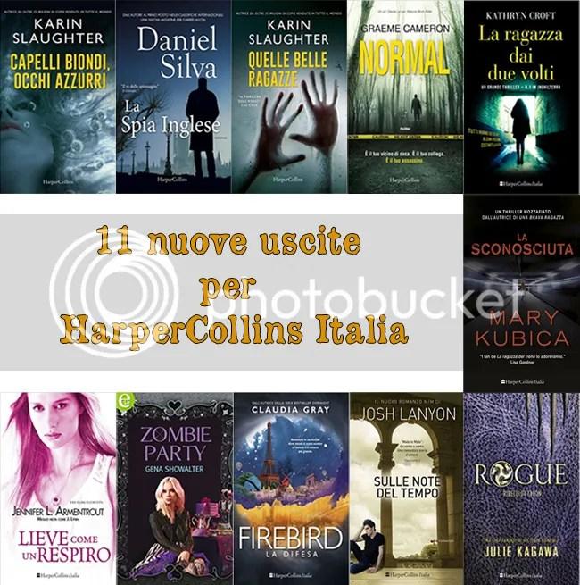 11 nuove uscite per HarperCollins Italia