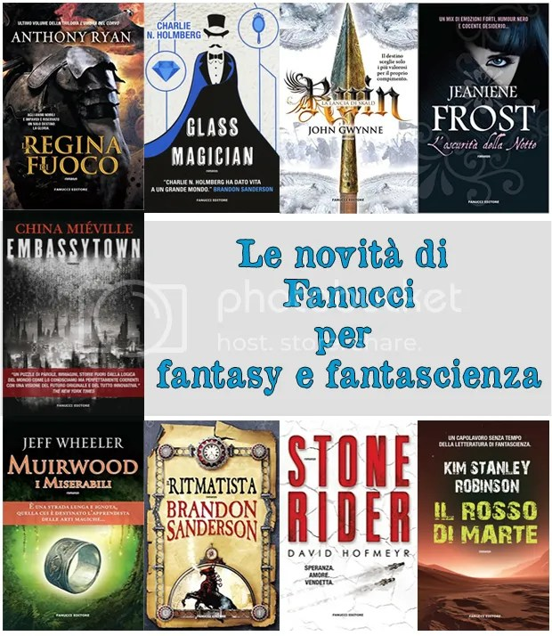 9 novità di Fanucci