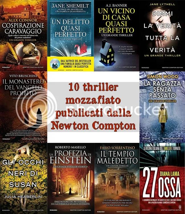 10 nuovi thriller pubblicati da Newton Compton – Cronache di
