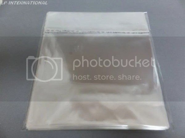 100 - Vinyl Record Resealable 0.04mm LP Outer Sleeves For ...
