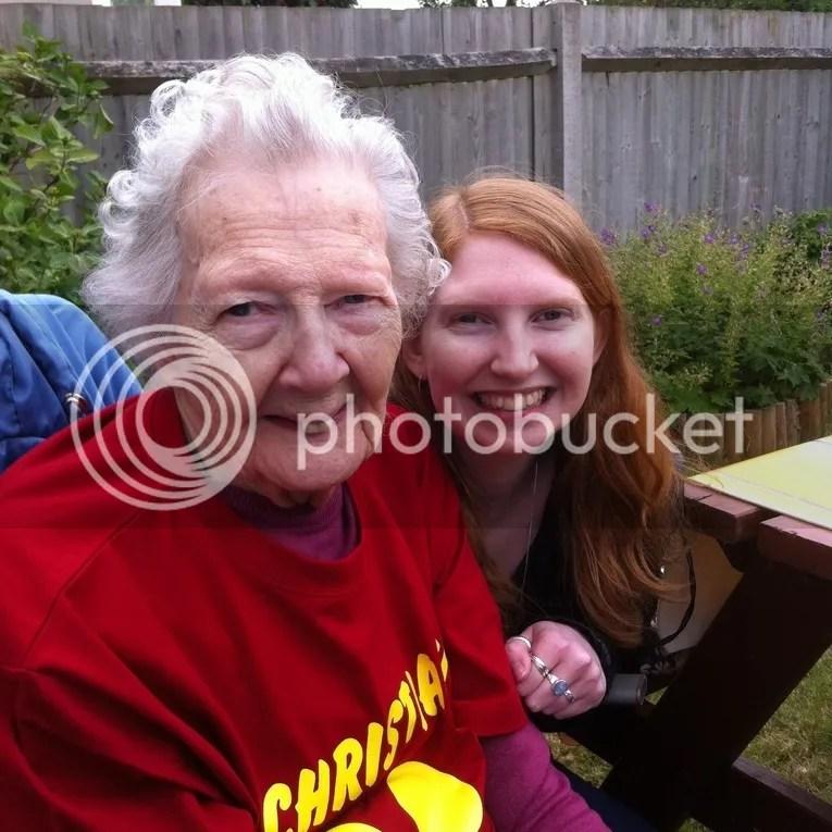 Me with Grandma