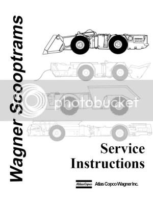 Atlas Copco Wagner Scooptrams Service manual | Auto Repair Manual Forum  Heavy Equipment Forums