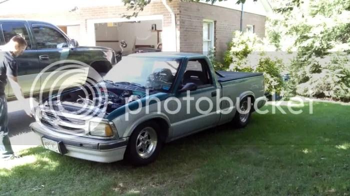 S10 Drag Truck Front Suspension