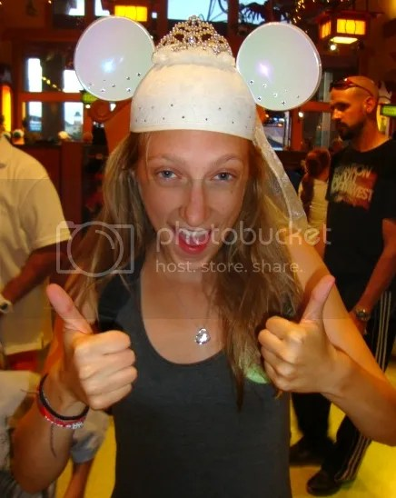 Bride Mouse Ears