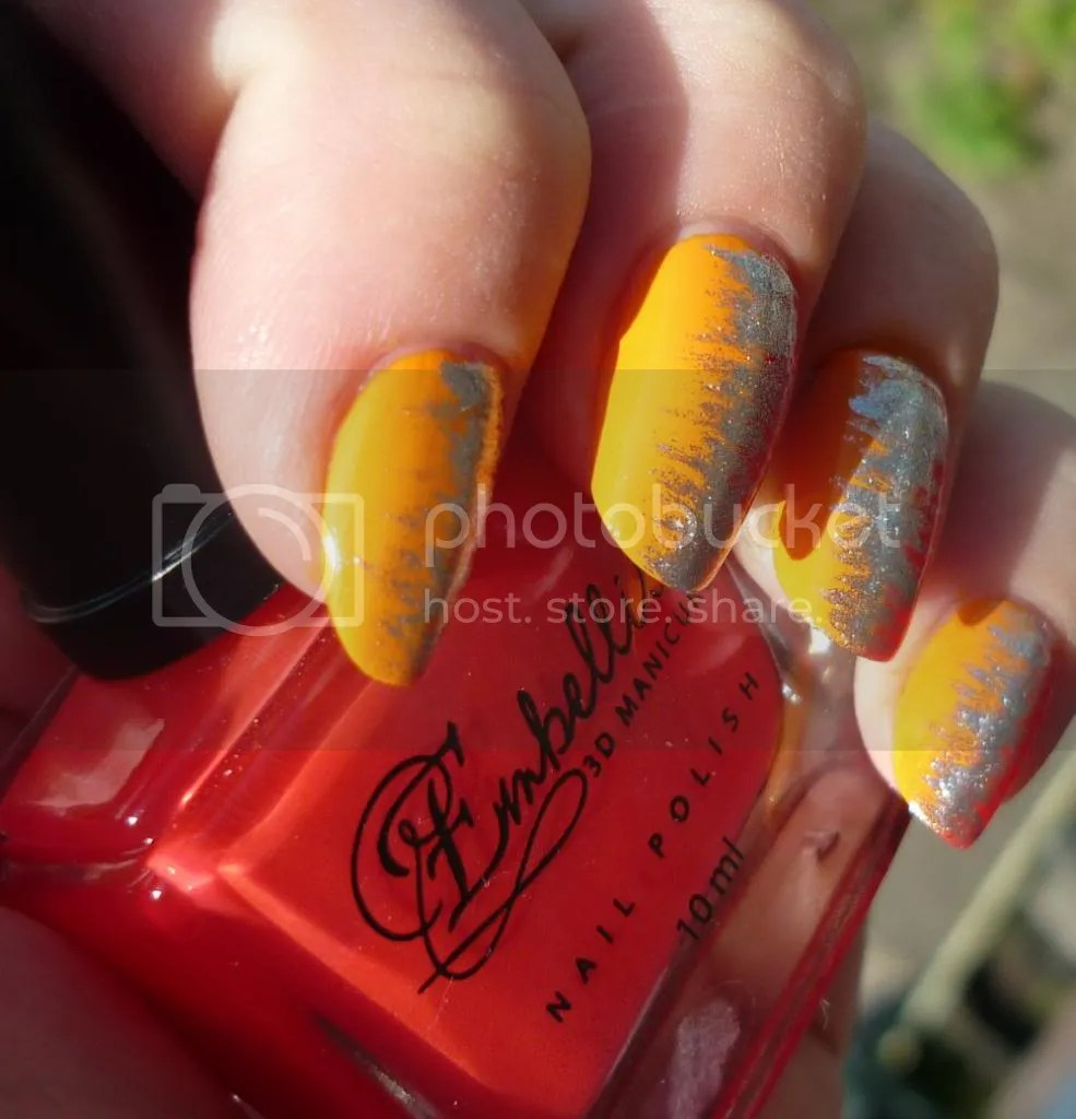 Diy Autumn Gradient Nail Art: Miss Lipgloss Gradient Nails DIY