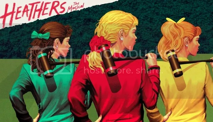 heathers, heathers the musical, off-broadway, musical, cult classic, reproduction