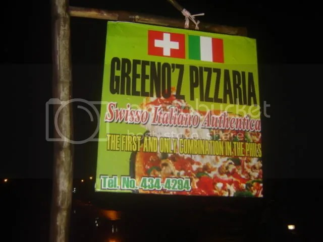 Greenoz Pizza