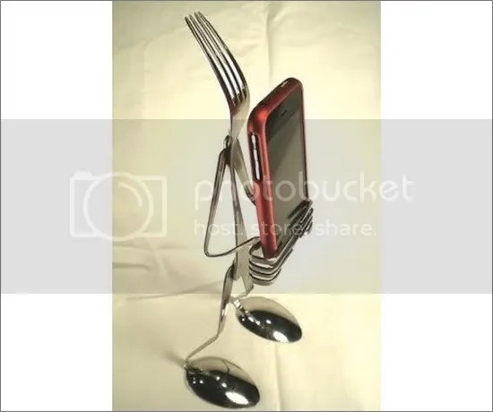 Cutlery iPhone Dock