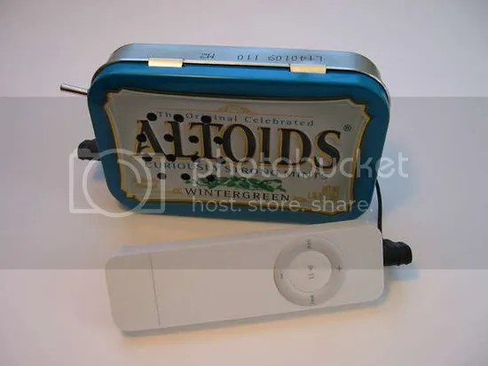 Altoid Case Speakers
