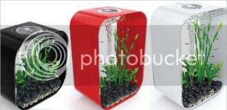 Black, Red and White biOrb Life Aquarium