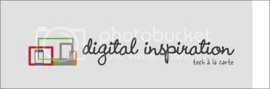 Digital Inspiration PDF Converter