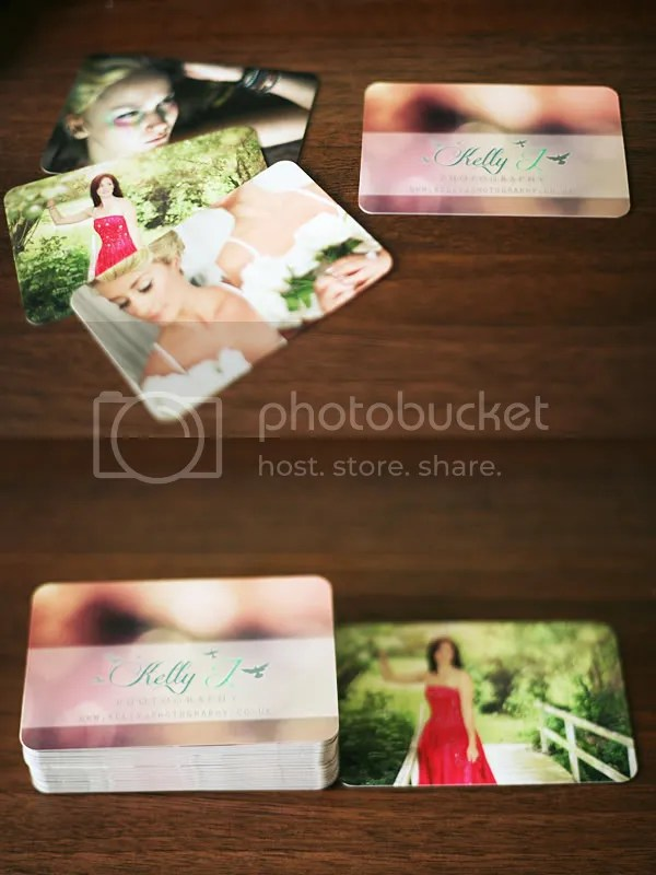 business cards - Kelly J Photography - Chester North West North Wales Portrait Creative Photographer