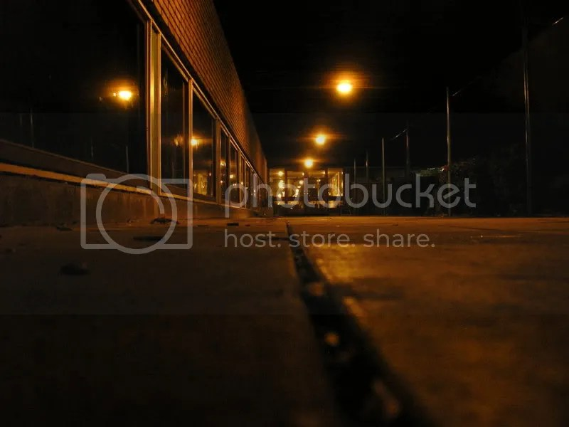 school at night