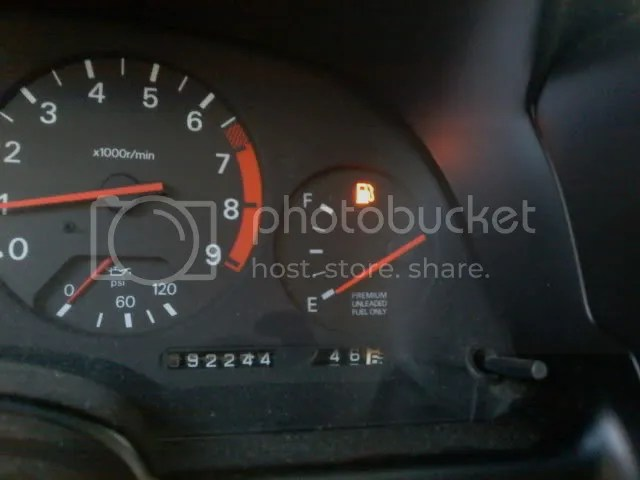 Image result for nissan gas gauge
