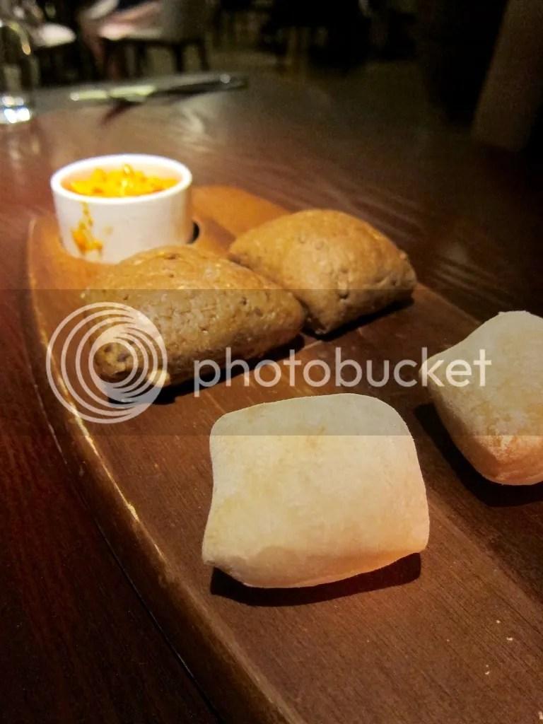 Opus Bar & Grill bread platter