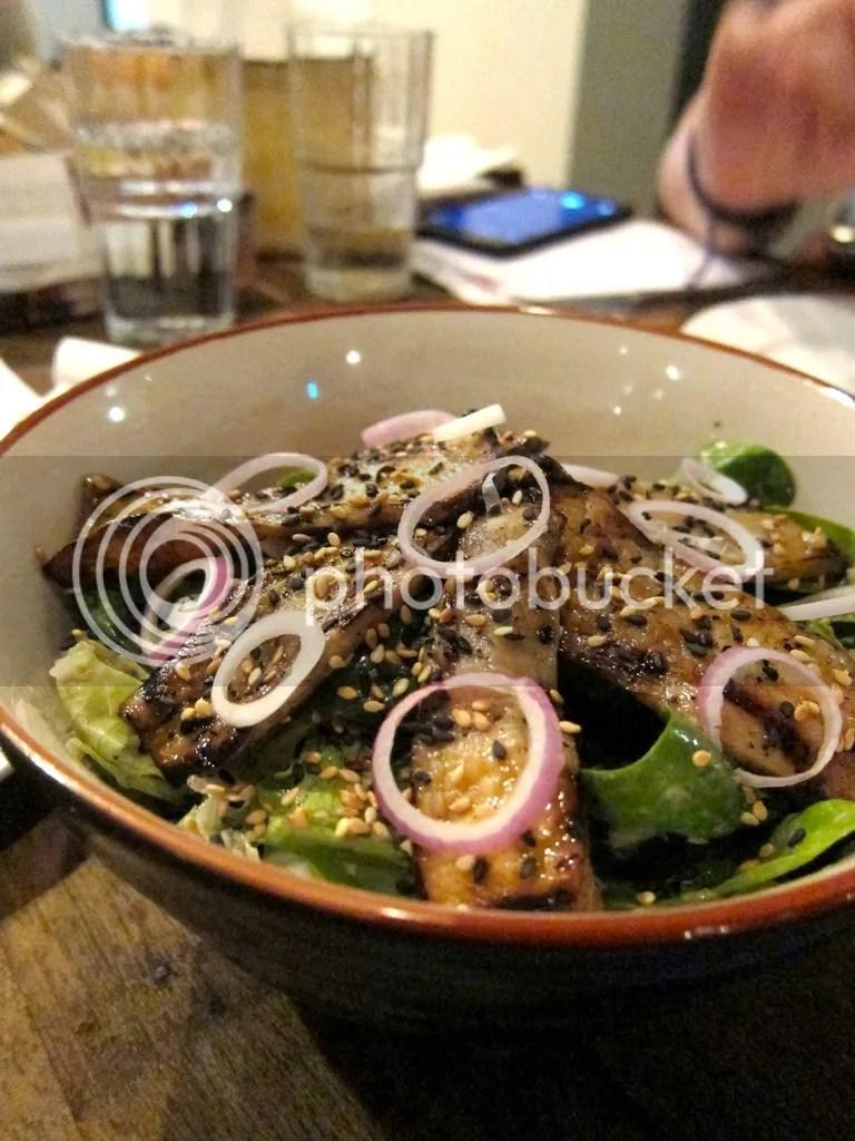 The Prawn Star Grilled King Oyster Mushroom Salad