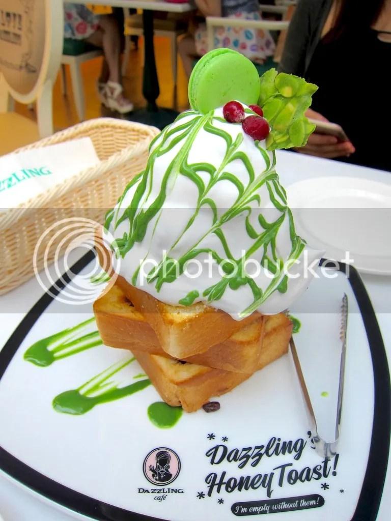 Dazzling Cafe Matcha Toast