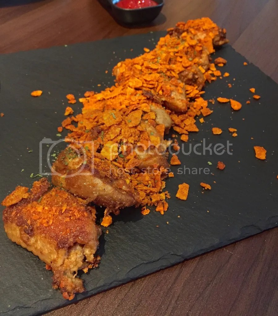Froth Cafe Doritos Crust Winglets