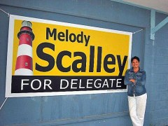 Melody Scalley is running again for the Virginia House of Delegates.
