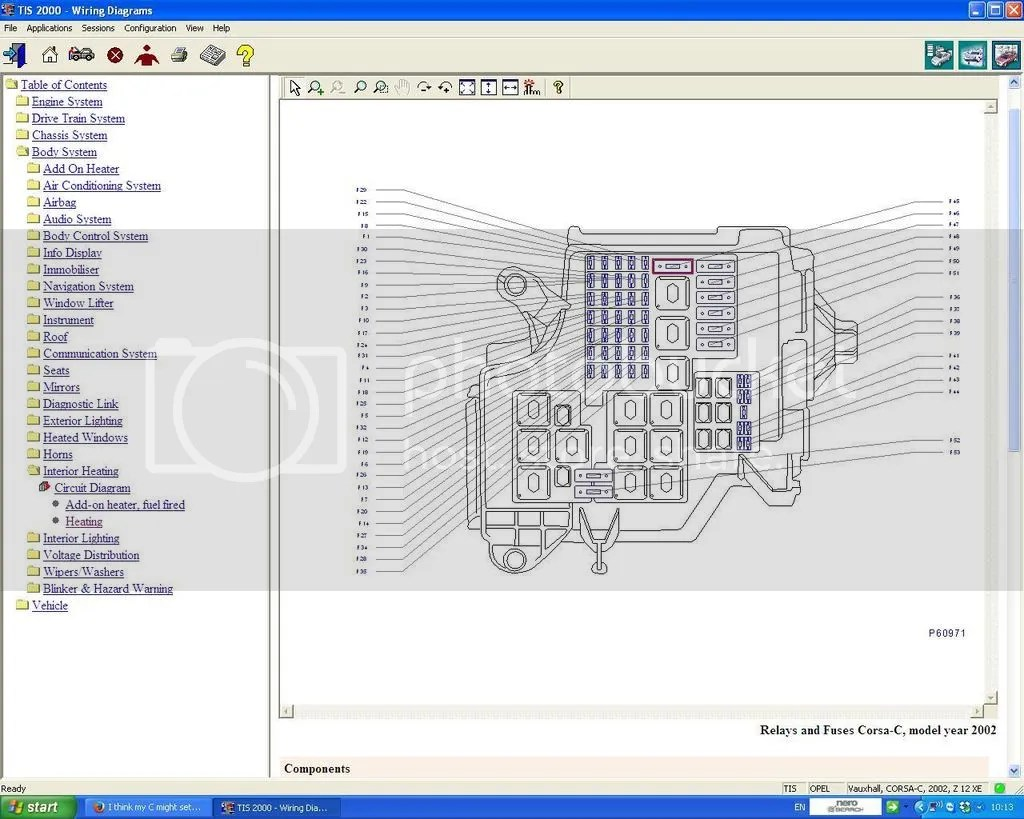 Opel Corsa Fuse Box Manual | Wiring Schematic Diagram on
