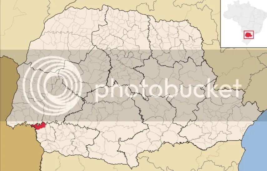Resultado de imagem para capanema pr mapa