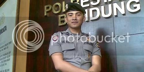 Polisi ganteng Bripda Saiful Bachrie