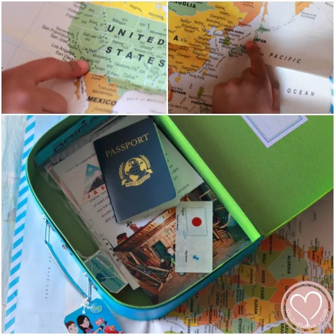 little passports, travel with kids, biracial babies, mixed family, inspired travel