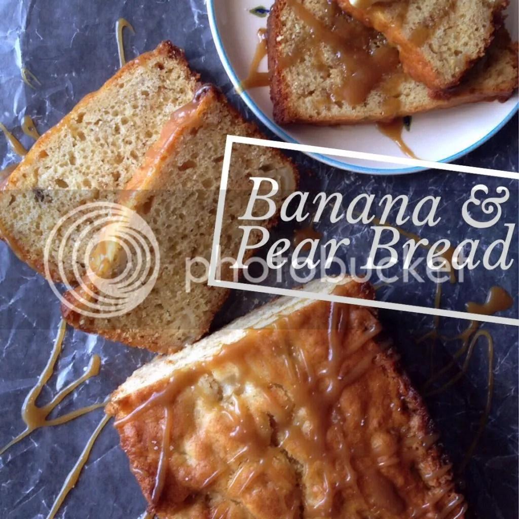 Banana Pear Bread